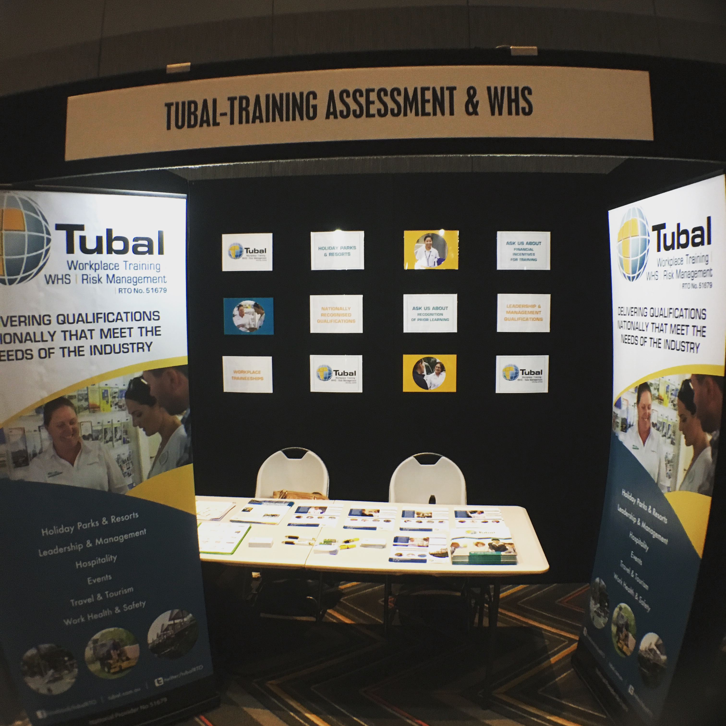 Tubal exhibits at National Caravan Industry Conference